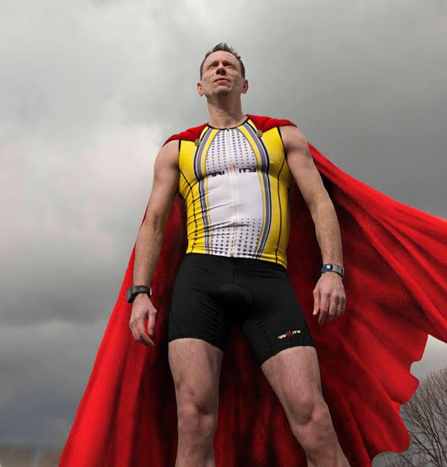 Super Vaughn - Photo by David Touster. Cape by Jeremy Roark