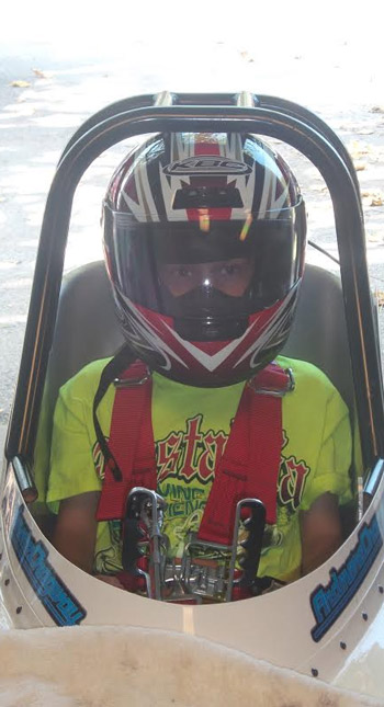 Ready to be the first hemophiliac drag racer