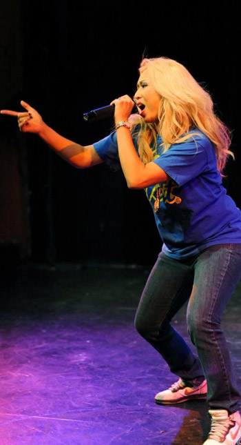 Shubzilla on stage